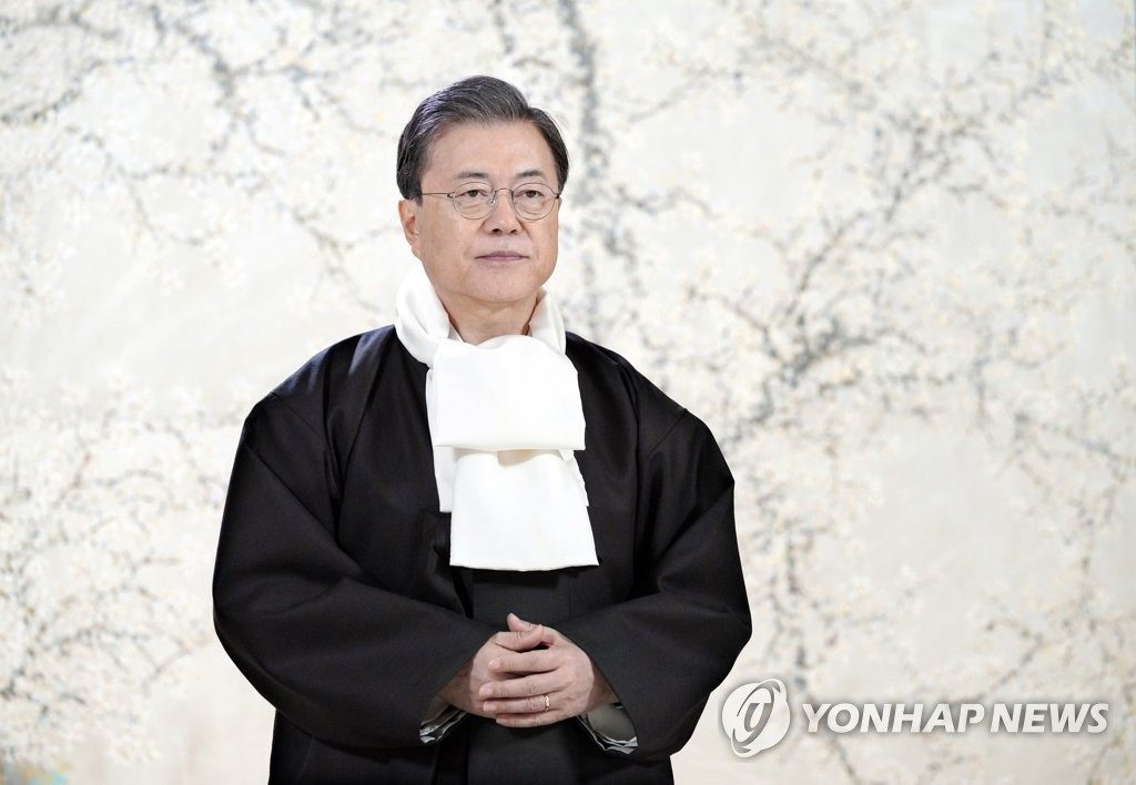 President Moon Jae-in, Pic by Yonhap News