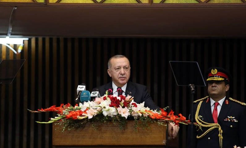 Turkish President Erdogan Vows Unflinching Support for Pakistan on FATF, Kashmir