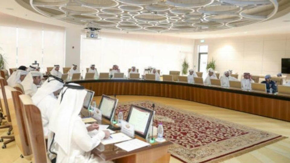 Amir of Qatar Presides Crisis Mgmt Committee meeting Pic QNA
