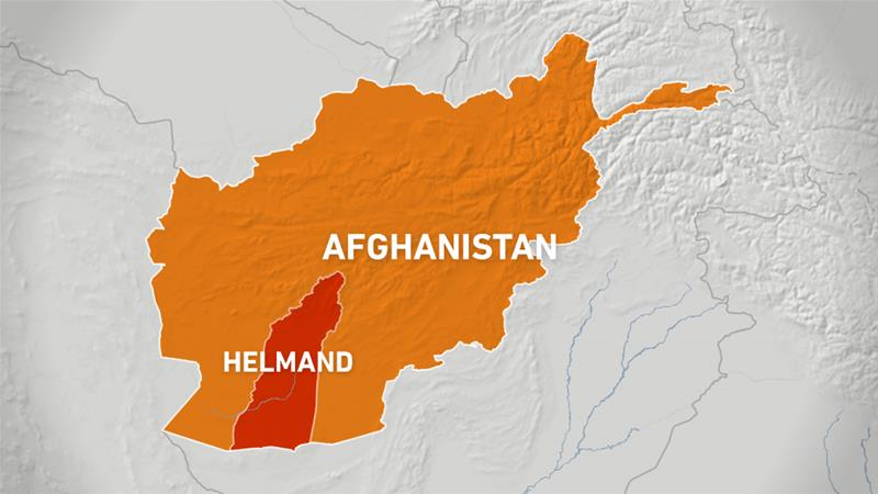 Map of Afghanistan by AlJazeera News