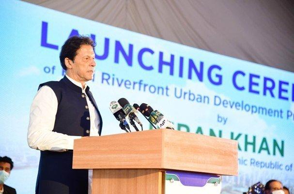 Prime Minister Imran Khan Inaugurates Mega Project Pic APP