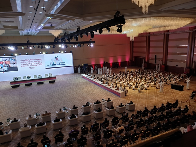 Landmark Intra-Afghan Peace Negotiations Launched In Doha