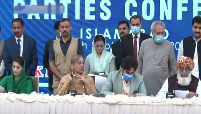 Pakistan : All Parties Conference Demands Resignation of Prime Minister Imran Khan, 26 Points Declaration