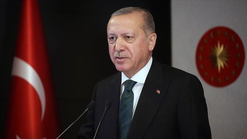 Turkish President Recep Tayyip Erdogan addresses 75th General Assembly 20 Sept 2020