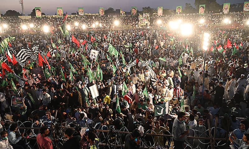 Pakistan : Opposition Flexes It's Muscles at Maiden PDM Rally In Gujranwala