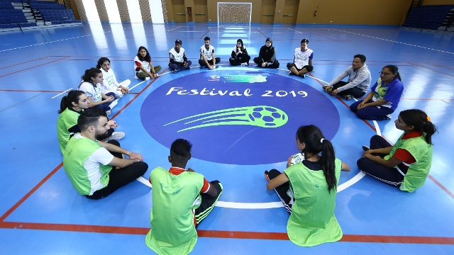 Uplifting Youth Through The Power Of Football To Leave Meaningful Legacy On The Road To Qatar 2022