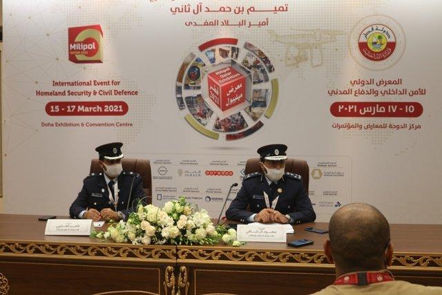 QR 390 m Deals Signed During Three Days Milipol Qatar 2021