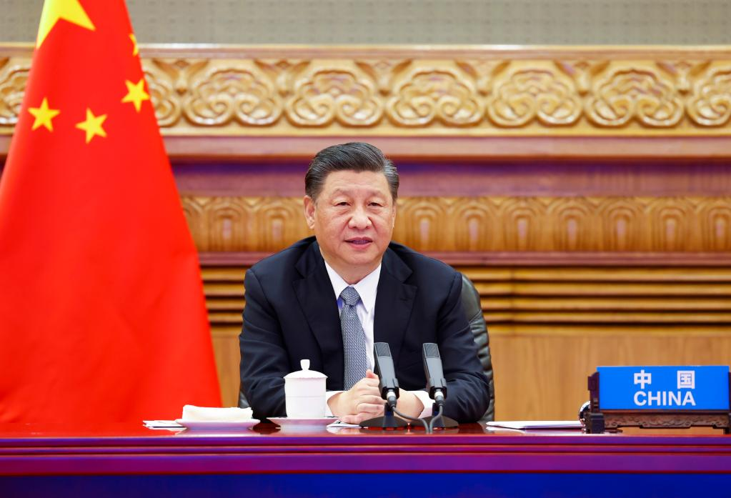 'Global Climate & Environment Challenges Can Be Overcome  If We all Work With Solidarity and Combine Efforts, President Xi                      Xi Jinping
