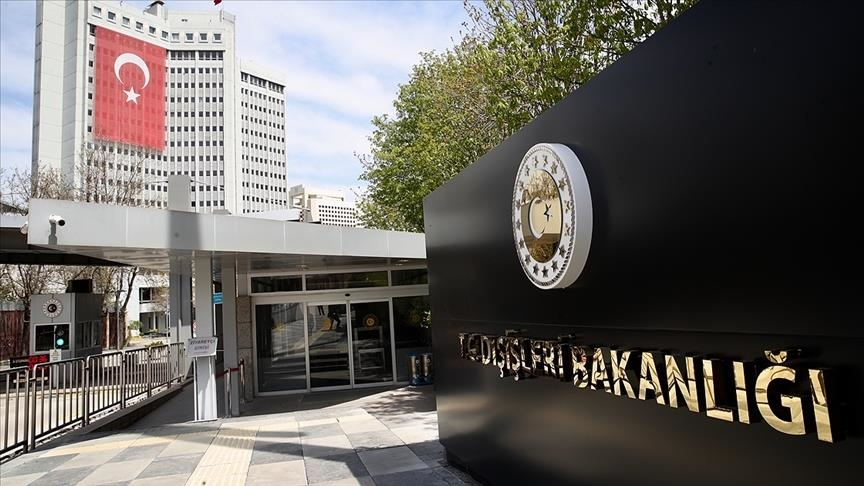 Ministry of Foreign Affairs of Turkey, Pic Anadolu News