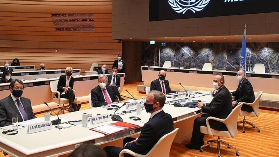 Turkish Cypriot Leader Presents Six Points Cyprus Resolution Proposal At The UN Led  Geneva Talks