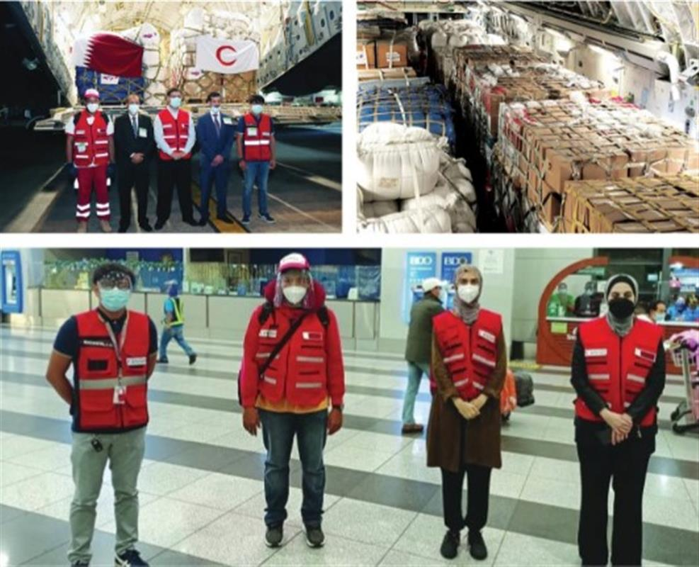 Qatar Providing Humanitarian Aid to Philippines to Overcome Challenges