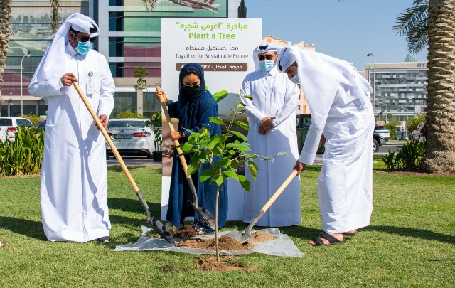 """World Environment Day : Qatar Rail Holds """"Plant A Tree"""" Campaign, Doha Metro Made 28 m Trips Since Launched"""