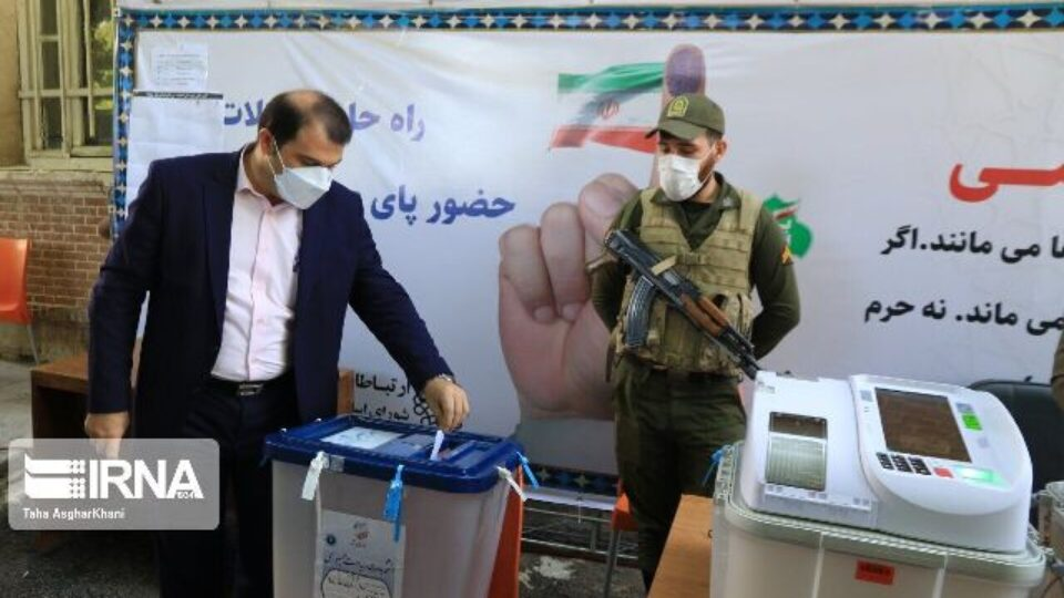 Justiciary Chief Ebrahim Raisi Leads In Iran's 13th Presidential Elections