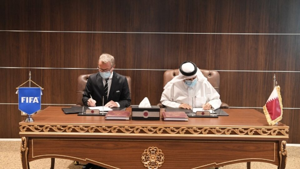 FIFA World Cup and SSOC 2022 Signs Agreement