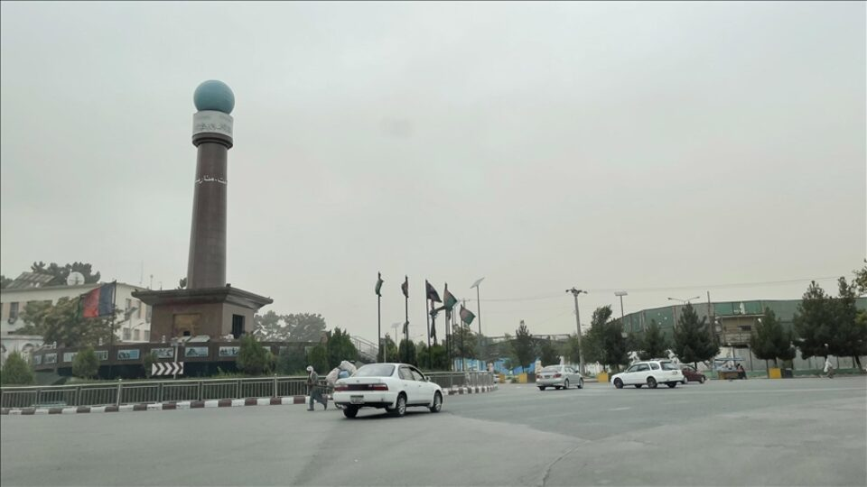 A general view of Kabul city after the Taliban took control in Kabul, Afghanistan, on August 18, 2021 Pic Anadolu News