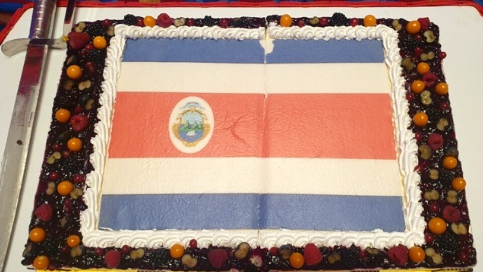 Qatar : Costa Ricans Celebrates 200th Independence Day With Fervor and Zeal
