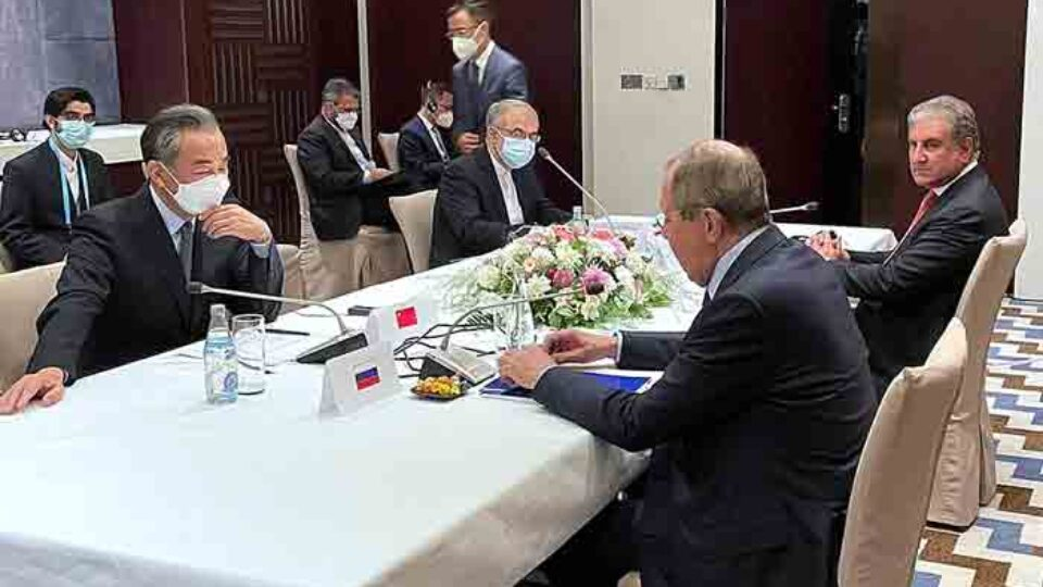 Top Diplomats Of Russia, China, Pakistan and Iran Reaffirmed Intention To Promote Peace, Security and Stability in Afghanistan